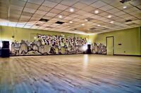 - DANCE & FITNESS STUDIO SPACE AVAILABLE - 3000sq.ft