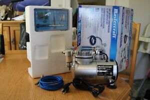 Mastercraft Air Brush Kit with Compressor, Never Used