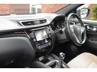 2014 Nissan Qashqai 1.6 dCi Premier Limited Edition 4X4 Diesel black Manual