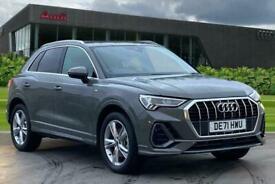 image for 2021 Audi Q3 S line 45 TFSI e  245 PS S tronic Auto Estate Petrol/PlugIn Elec Hy