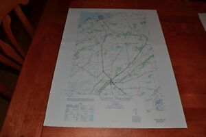 New York vintage 1940's Army topographic map, Clayton NY