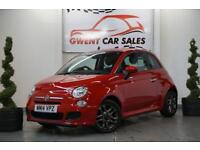 2014 14 FIAT 500 1.2 S IN RED 3 DOOR START/STOP