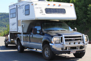 Ultimate All Weather, All Terrain Camper / Truck Combo