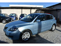 Mazda 3 1.6 TS2 5 DOOR BLUE 2008 MODEL + FULL DEALER HISTORY+