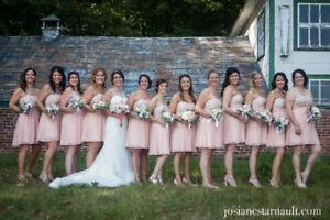 12 robes demoiselles d'honneur