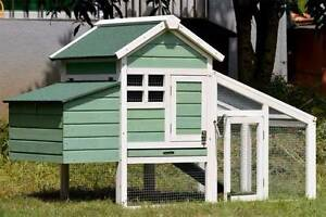 Chicken coop with nesting box for 2 Chickens / Large rabbit hutch Mordialloc Kingston Area Preview