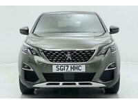 2017 Peugeot 3008 1.6 BlueHDi 120 GT Line 5dr EAT6 Auto Estate Diesel Automatic