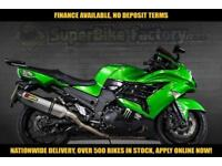 2012 12 KAWASAKI ZZR1400 FCF ABS 1400CC 0% DEPOSIT FINANCE AVAILABLE
