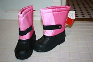 NWT Joe Fresh size 10 toddler winter boots