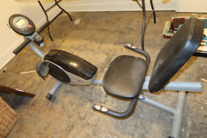 recombent exercise bike