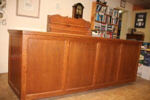 Sales Desk Attractive Wood Paneling