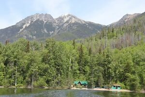 Lakefront Cabins for Sale on Takla Lake