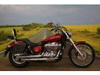 Honda VT750 **Leather Panniers, Back Rest, Excellent Condition**