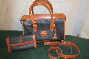 Dooney & Bourke Pebble Leather Satchel Hand/Shoulder Bag