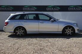 2013 62 MERCEDES-BENZ C CLASS 2.1 C250 CDI BLUEEFFICIENCY AMG SPORT PLUS 5D AUTO