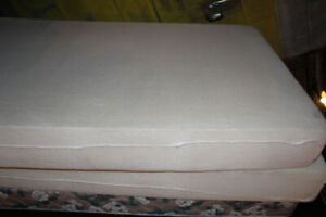 2 Matelas Simple Allonger Mousse mémoire ZedBed 39X80