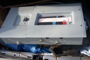200 fuse electrical panel  for sale