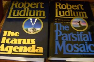 FIVE HARDCOVER BOOKS BY ROBERT LUDLUM Windsor Region Ontario image 3