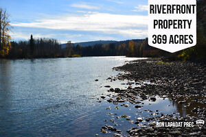 Riverfront property on the Bulkley River
