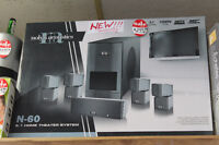 Nolyn Acoustics N-60 5.1 Home Theater System Winnipeg Manitoba Preview