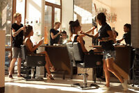Busy Downtown Hair Salon Openings