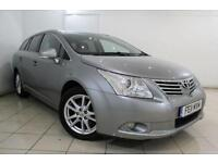 2011 11 TOYOTA AVENSIS 1.8 VALVEMATIC TR 5DR AUTOMATIC 145 BHP
