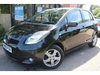 2010 (60 Plate) Toyota Yaris 1.3 TR Black 5 Door FSH Long MOT Finance Available