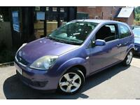 2006 (06) Ford Fiesta 1.25I 16V FREEDOM 3 Door Purple FSH Long MOT Cambelt Done