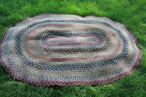 Braided area rug