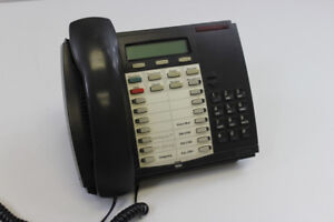 1 BLACK MITEL SUPERSET 4025 DIGITAL PHONE 9132-025-200-NA