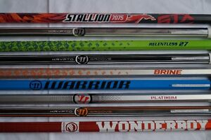 Brand New Lacrosse Stick Shafts 50% Off Retail