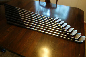Walter Hagen Haig Ultra Left-Hand Irons #2-Pitching Wedge