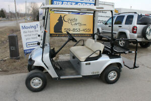 2013 Silver EZ-GO TXT Gas Golf Cart
