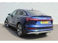 2021 Audi E-TRON SPORTBACK 300kW 55 Quattro 95kWh S Line 5dr Auto SUV Electric A