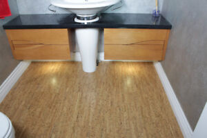 """Why Choose Our 5/16"""" Cork Tiles, Walking Comfort, Silence, Warmt"""