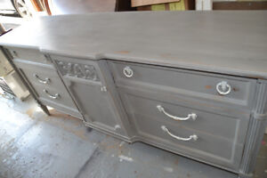 Large shabby chic buffet/dresser perfect for flat screen tv.