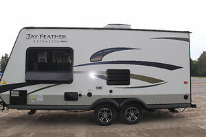 Nearly New Jayco Feather Ultra Lite Trailer
