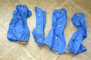 2 sets calf gaiters for X-country and snow shoeing