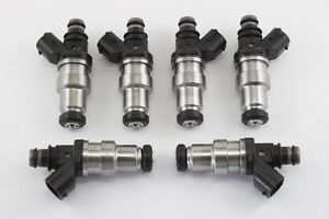 6 - 440cc Toyota Supra 7MGTE fuel injectors - Fits others