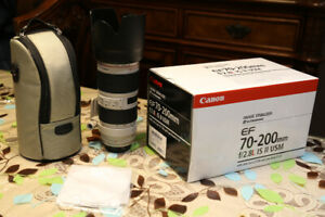 Canon 70-200 f2.8 is ii USM - For Sale