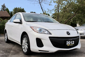 2012 Mazda Mazda3 GS-SKY - Accident Free - One Owner - Certified