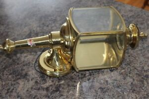 Light Polished Brass Outdoor Wall Mount Fixture