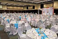 Rent Tablecloths, Chair Covers, Napkins, and more!
