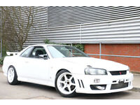 Nissan Skyline 2.5 LTD EDN GTT R34 Stunning high Spec Car (GTR SPEC)