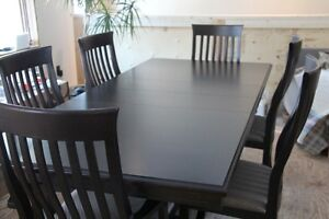 Solid Maple Dining Set