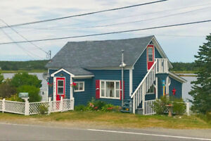 Seaside cottage, 2.5 hours from Halifax