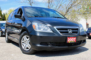 2007 HONDA ODYSSEY EX-L - ACCIDENT FREE - ONE OWNER - CERTIFIED!