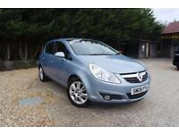 VAUXHALL CORSA DESIGN 1.4 16V, Blue, Manual, Petrol, 2008