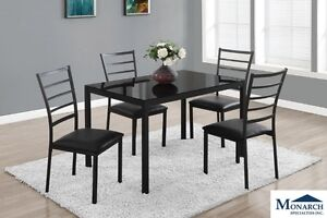 Brand NEW Black 5 Piece Dinette Set! Call 902-892-8063!