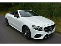 2018 Mercedes-Benz E-CLASS E350d 4Matic AMG Line 2dr 9G-Tronic Auto Convertible